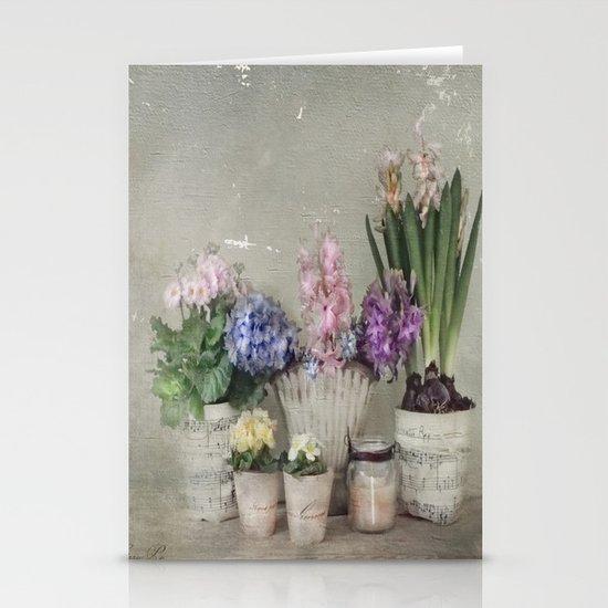 longing for springtime Stationery Cards
