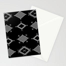 UrbanNesian Black and White Malu Stationery Cards