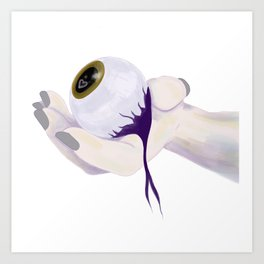 Eye See You Haven't Changed Art Print
