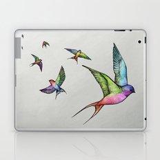 Swallows in Flight Laptop & iPad Skin