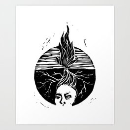 Child of the Earth Art Print