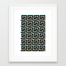 Pixel Wave no.3 Framed Art Print