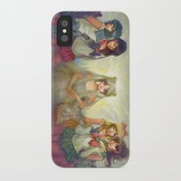 sailor moon iPhone & iPod Cases featuring Sailor Moon by KATIE PAYNE