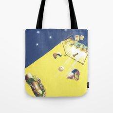 POEM OF BED Tote Bag