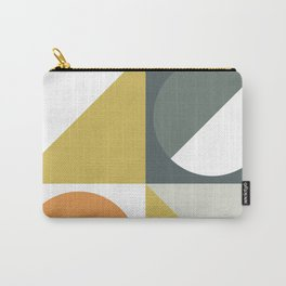 Mid Century Geometric 01 Carry-All Pouch