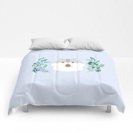 Furball in the garden Comforters
