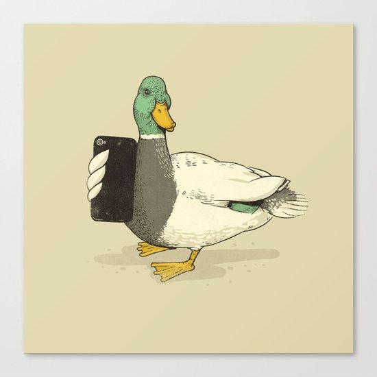 Duck Lips Canvas Print