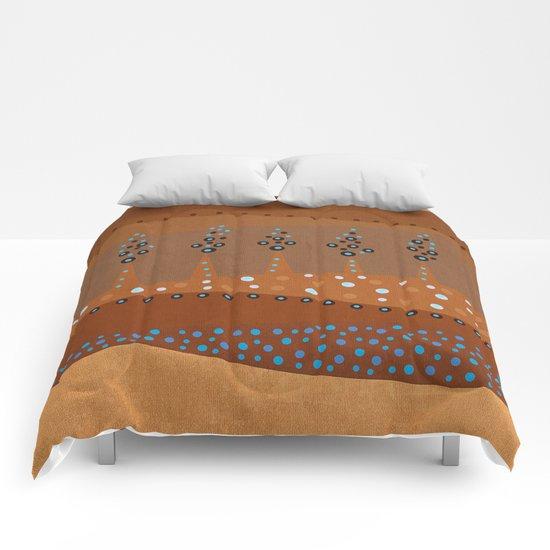 Color/Landscape 6 Comforters