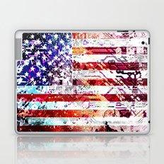 circuit board panel USA Laptop & iPad Skin