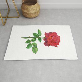 "Red rose ""Mama Africa""  Rug"
