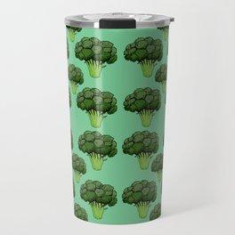Broccoli Pattern Travel Mug