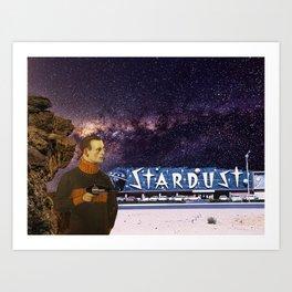 Phaser & Stardust Art Print
