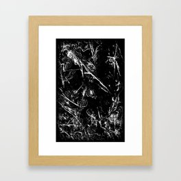 Ice II Framed Art Print