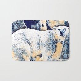 Polar Bath Mat