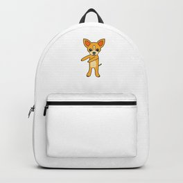 Floss Dance Move Chihuahua Backpack