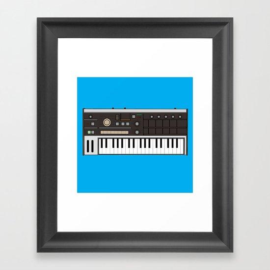 MikroKorg Framed Art Print