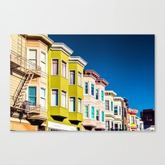 Colorful San Francisco 3 Canvas Print