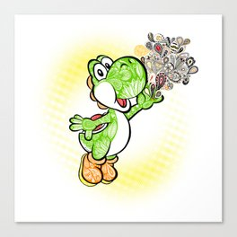 Yoshi Wonderland !  Canvas Print