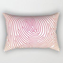 fingerprints2 Rectangular Pillow
