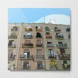 Barcelona Building  Metal Print