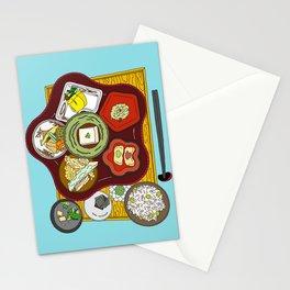 Japanese Veggie Platter Stationery Cards