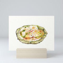 Dahi Vada (Indian Street Food series) Mini Art Print
