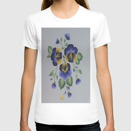 I LOVE MY PANSIES  T-shirt