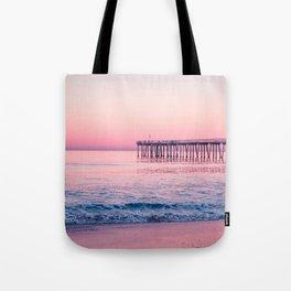 Hermosa Beach Pier California United States Ultra HD Tote Bag