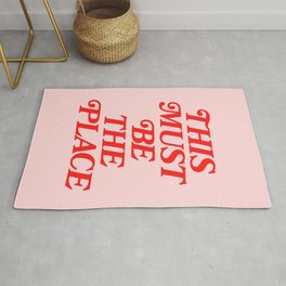This Must Be The Place Rug