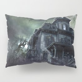 The Haunted House Pillow Sham