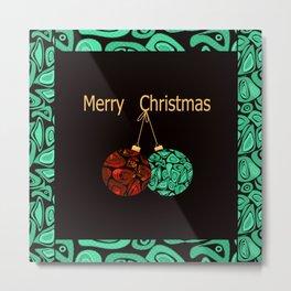 merry Christmas . Metal Print