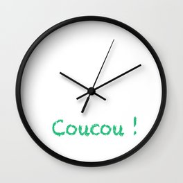 Coucou ! Wall Clock