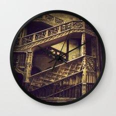 A Hogwarts Staircase Wall Clock
