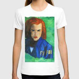 Agent Scully FBI T-shirt