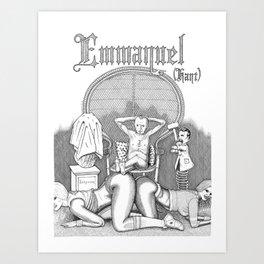 Eloge de la passion impure (Praise of the impure passion) Art Print