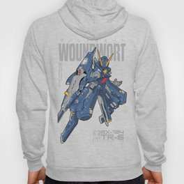 Woundwort Test Team color - MS Gundam Hoody