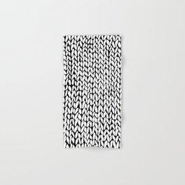 Hand Knitted Loops Hand & Bath Towel