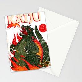 Cool Godzilla Japanese Design Stationery Cards