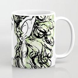 Female elf profile 1 Coffee Mug