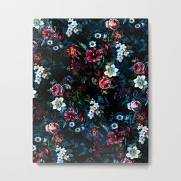 NIGHT GARDEN XI Metal Print