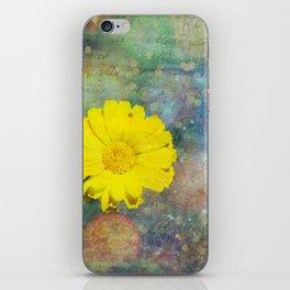 Flower Texture Princess 1 iPhone Skin