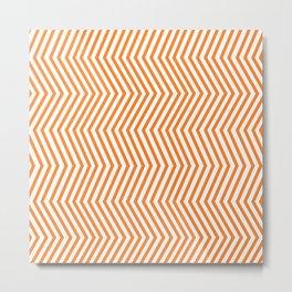 KAYA ((tangerine)) Metal Print