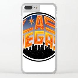 Las Vegas Clear iPhone Case