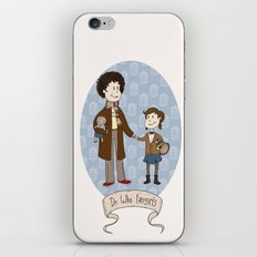 Dr Who Fangirls iPhone & iPod Skin