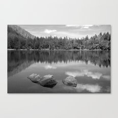 Mirrored Lake Canvas Print