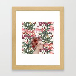 Lost in Blindfulness Framed Art Print