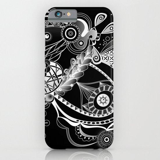 Spring tangle, black iPhone & iPod Case