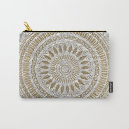 Elegant hand drawn tribal mandala design Carry-All Pouch
