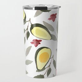 Tropical Avocados Travel Mug