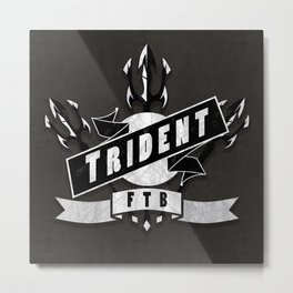 Trident Metal Print
